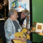 Jorma Kaukonen (left) and Larry Dalton testing  Acoustic Duo