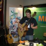 Thomas Leeb (www.thomasleeb.com) performing at Mi-Si booth.